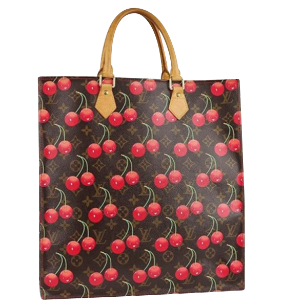 Louis Vuitton Sac Plat Cherry