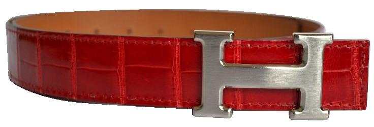 Boucle de ceinture Hermès modèle Constance - H