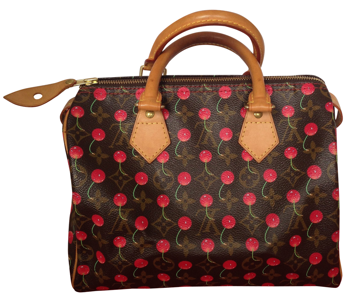 Sac Louis Vuitton Speedy 25 collection Cerises