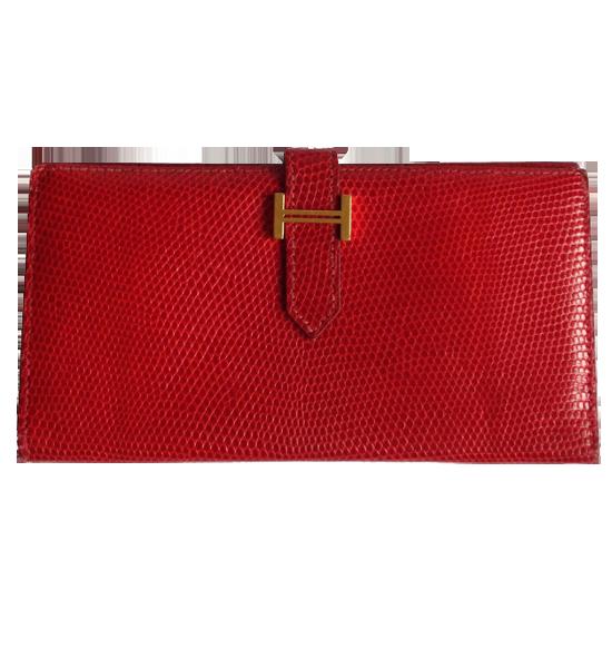 Portefeuille Hermès modèle Béarn
