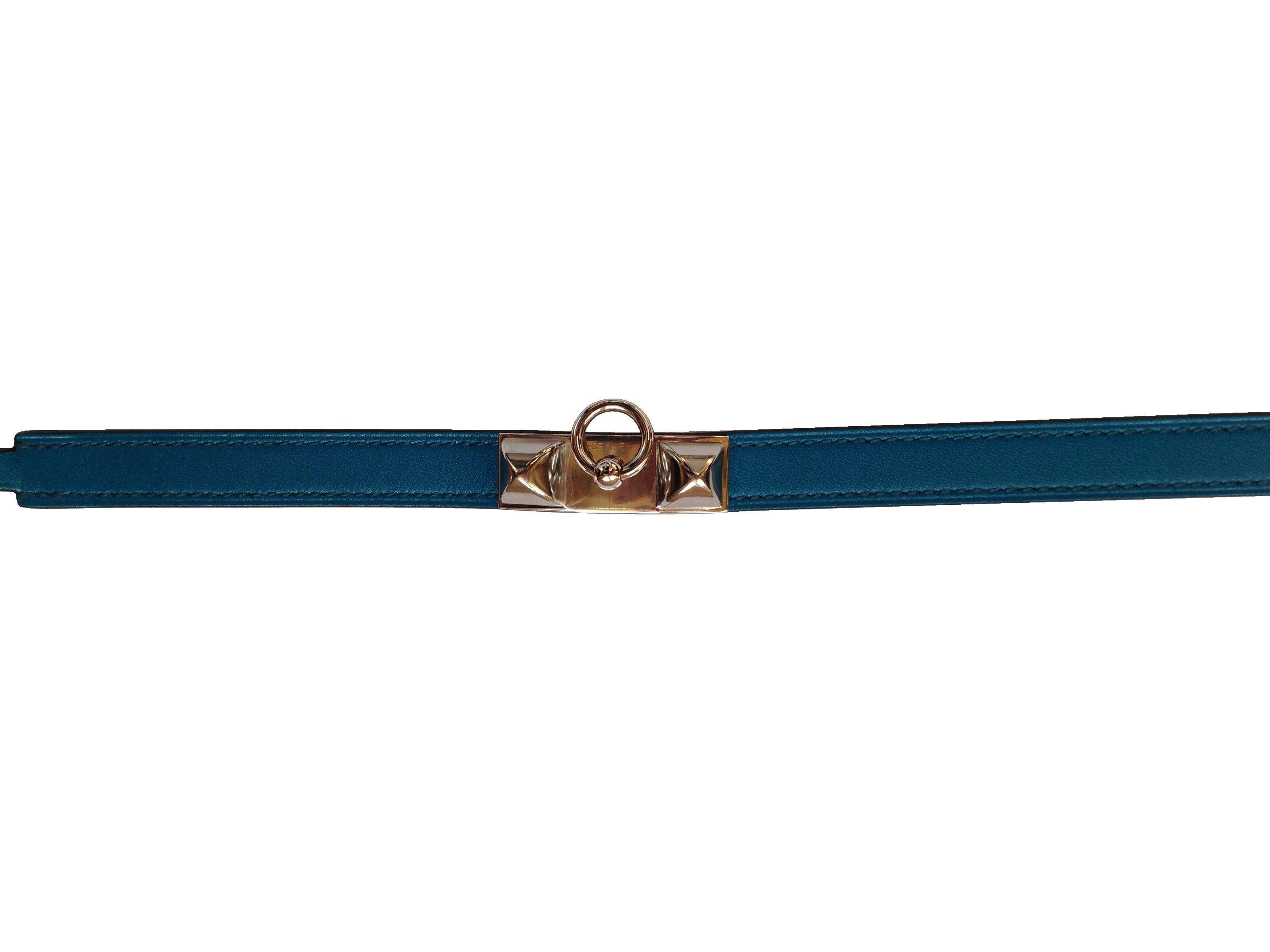Bracelet Hermès  Rivale Bleu Izmir