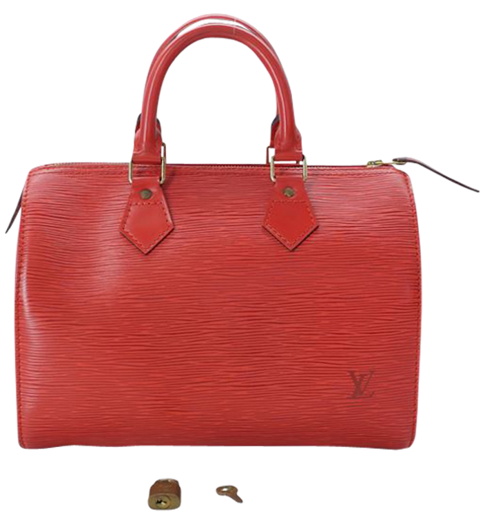 Sac Louis Vuitton  Speedy 25 Epi Red