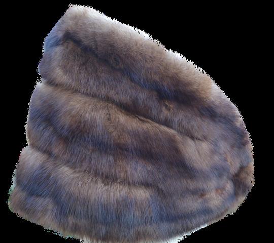 Etole en fourrure Zibeline de Russie