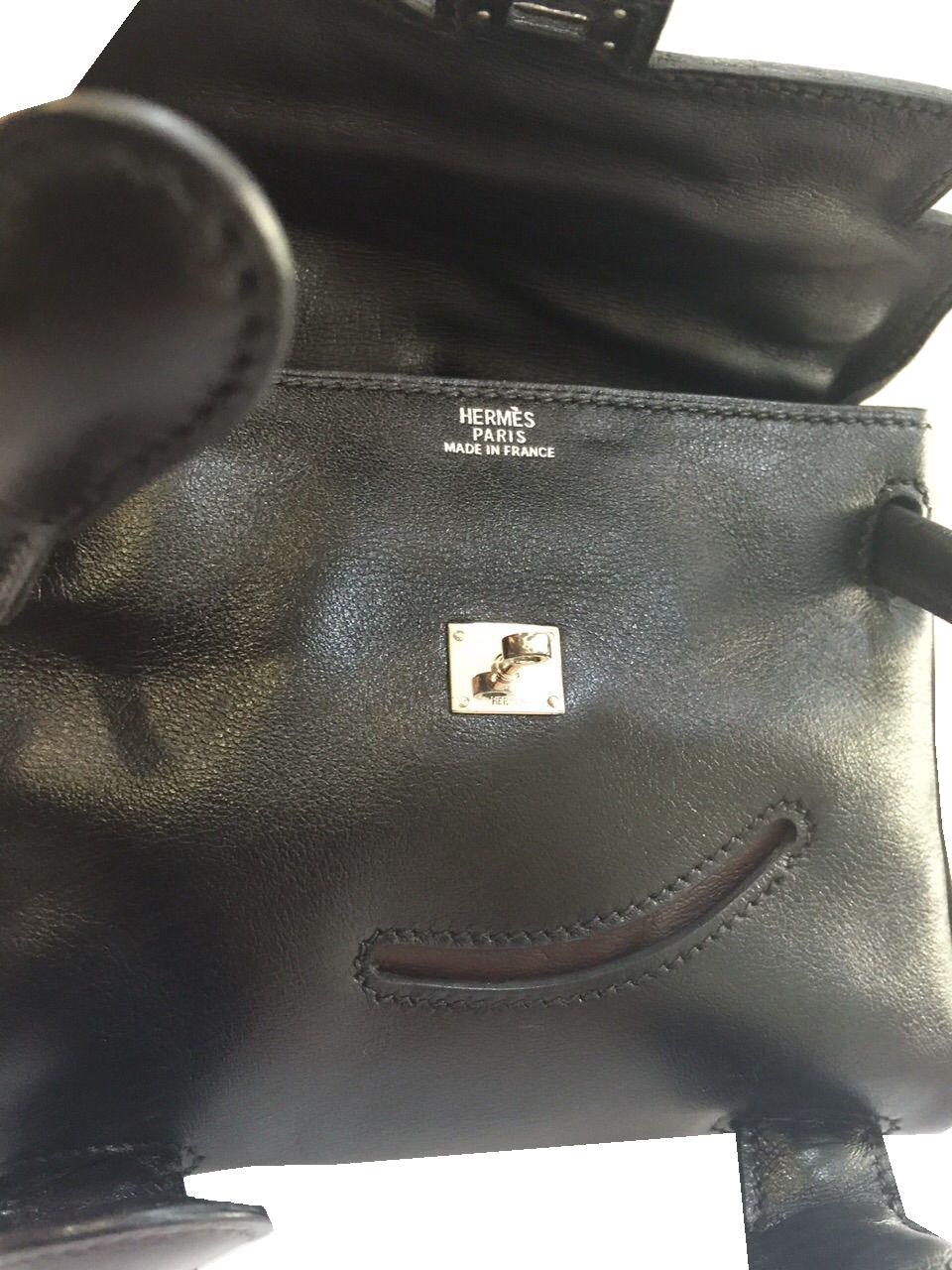 Sac Hermès Kelly Quelle Idole Noir