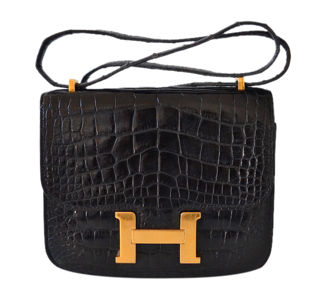 Hermès Constance 18 Black Alligator