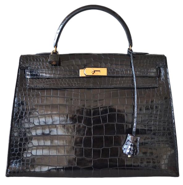 Hermès Kelly 35 crocodile Porosus