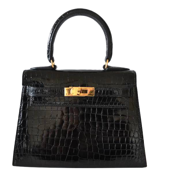 Hermes Kelly 20 Crocodile Porosus