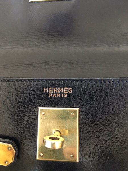 Hermès Kelly 32 Box Noir