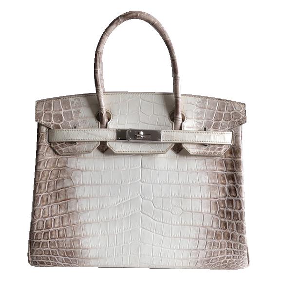 Hermès Birkin 30 Himalaya White