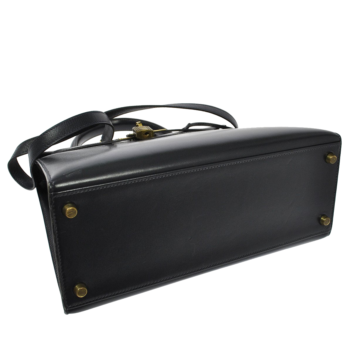 Hermès Kelly 28 Sellier Box Black