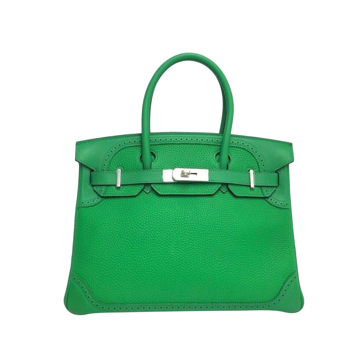 Sac Hermès modèle Birkin 30  Edition Ghillies