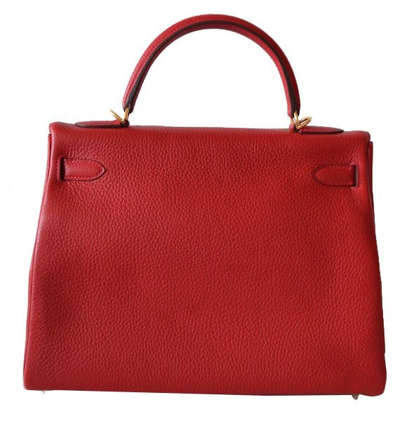 Sac Hermès Kelly 32 Rouge Casaque
