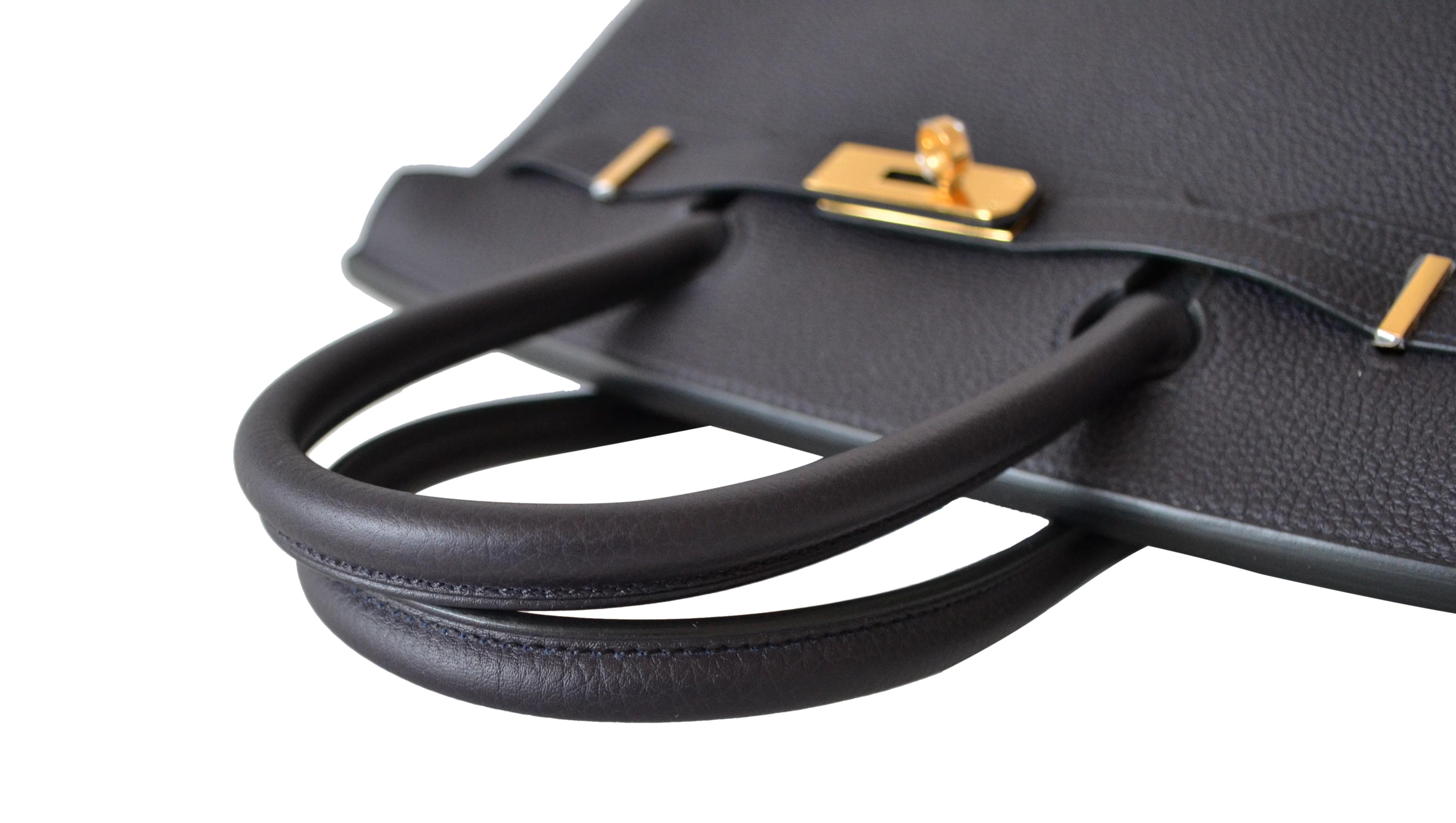 Sac Hermès Birkin 30 Togo Noir